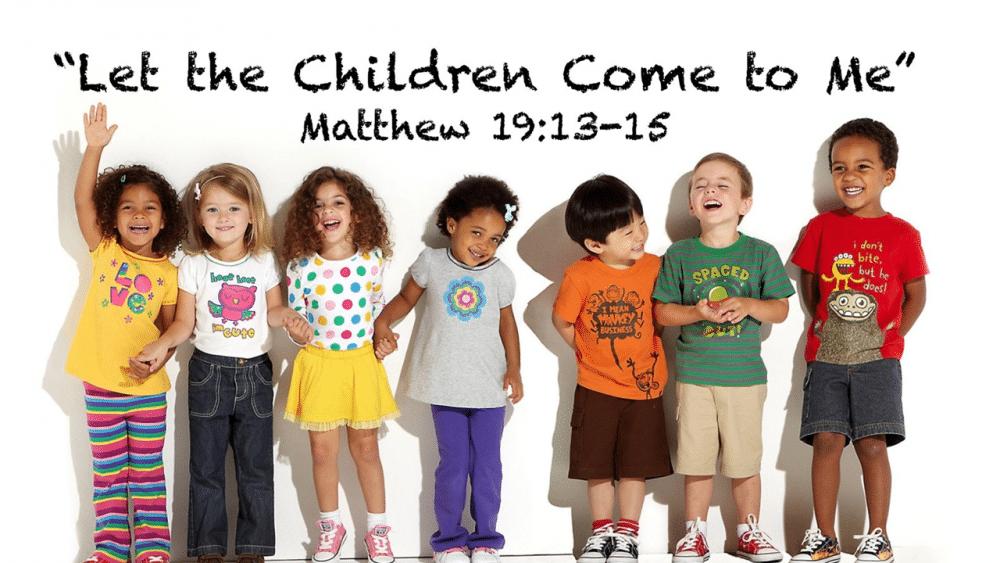 Jesus Cared for Children