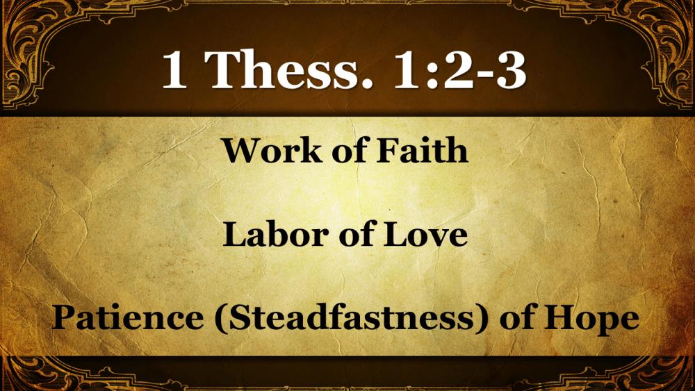 Faith, Love & Hope