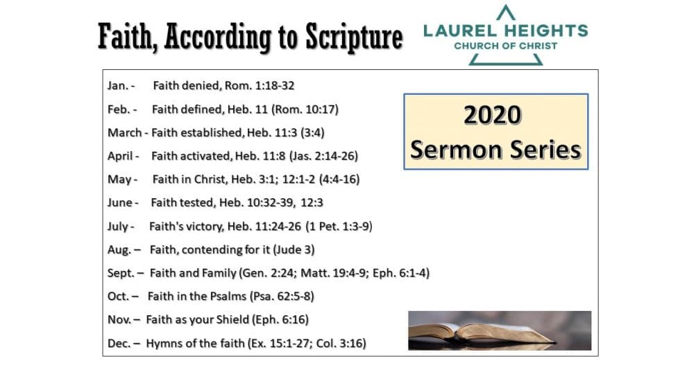 Faith According to Scriptures #3