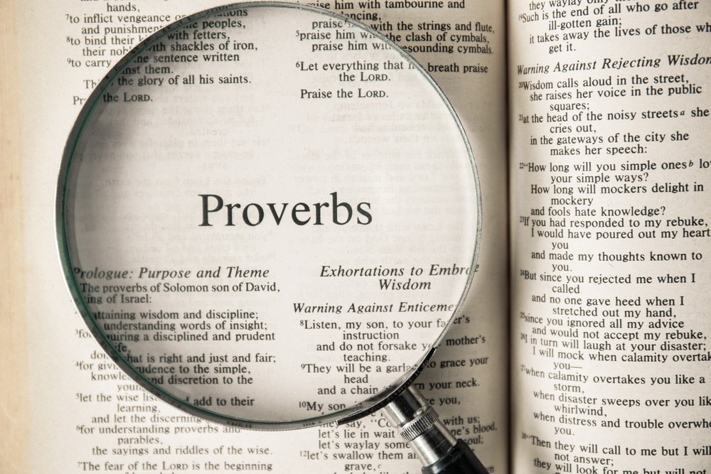 Proverbs Class 3 for Apr. 5