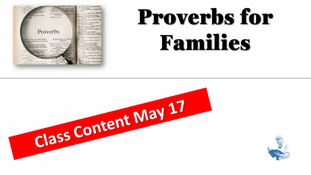 Proverbs Family Passages Image