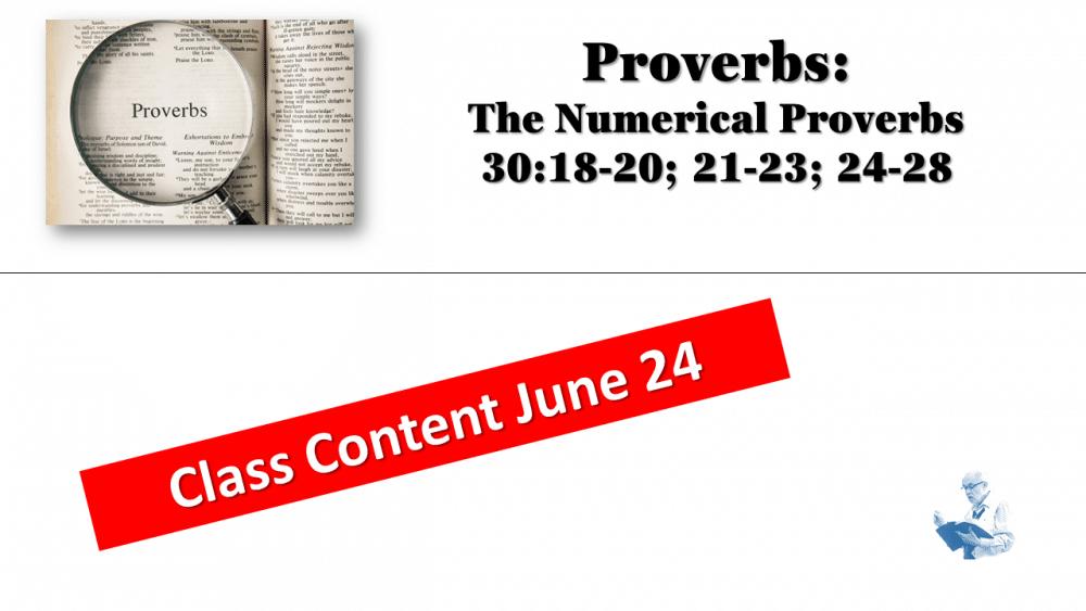 Prov. Class June 24
