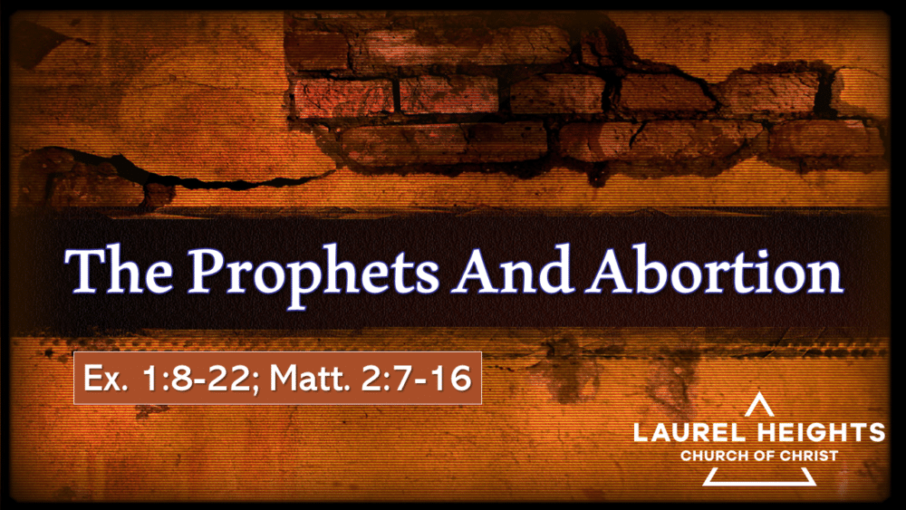Prophets on Abortion Image