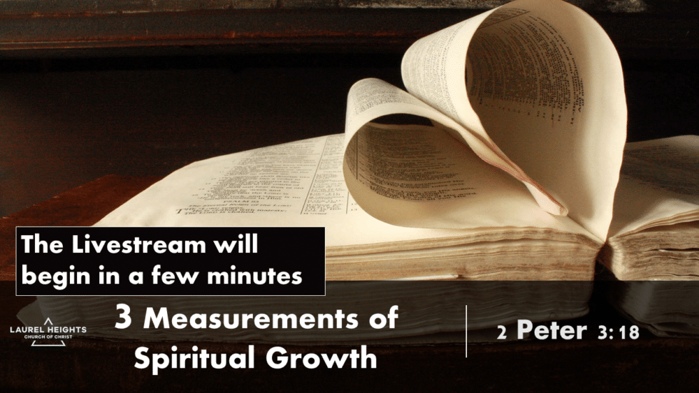 Measures of Spiritual Growth
