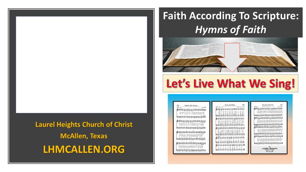 Hymns of Faith (Dec. 6 am) Image