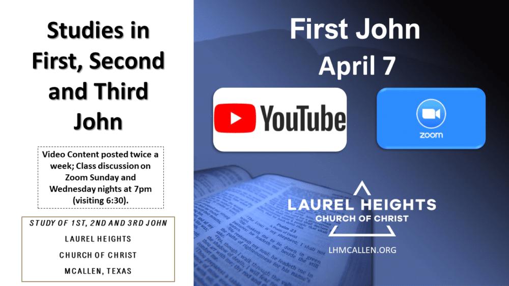 123 John for April 7