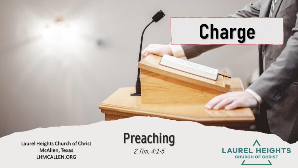 Preaching 2 Tim. 4:1-5 Image