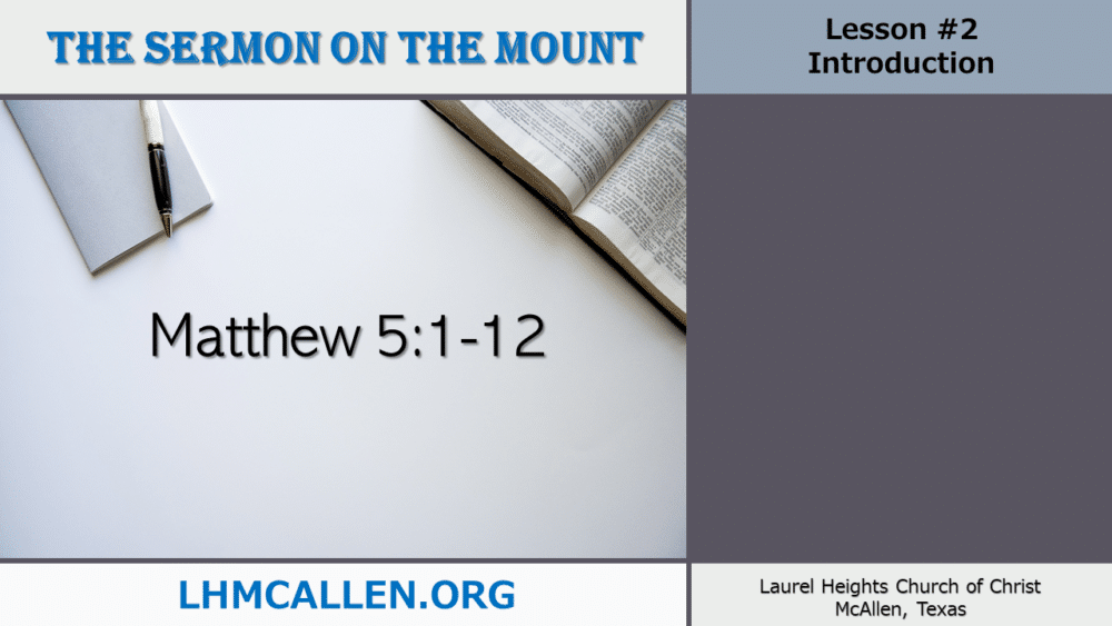Sermon on the Mount May 12 Image