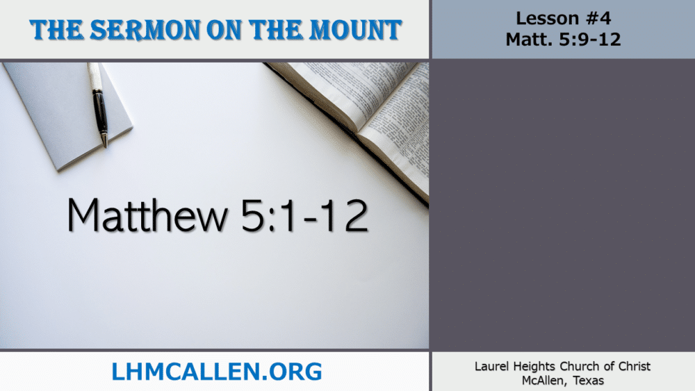 Sermon on the Mount May 19 Image