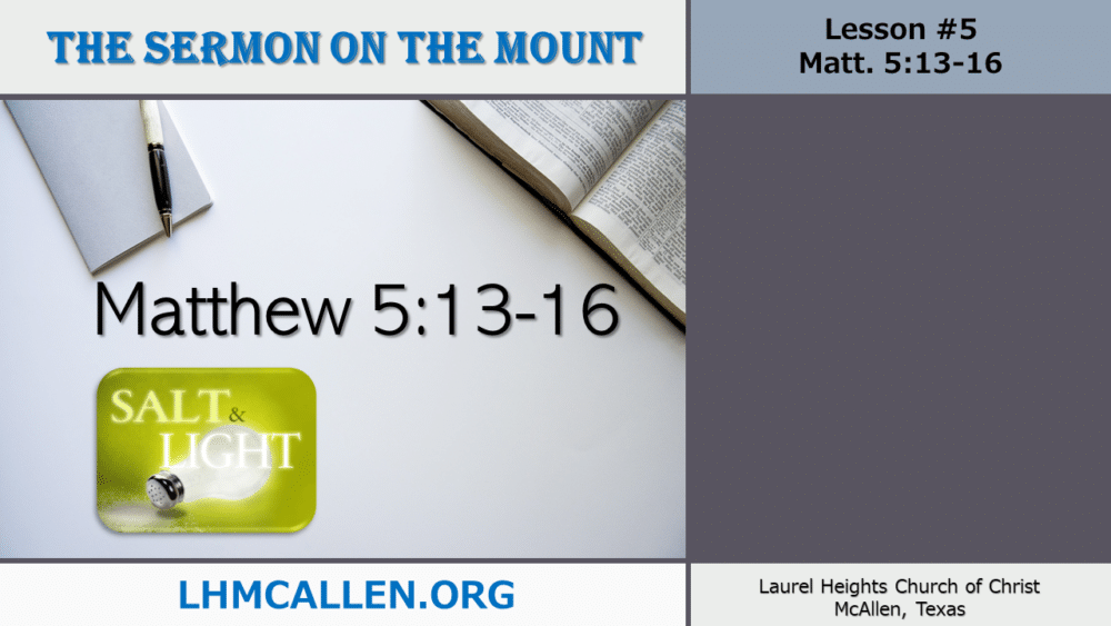 Sermon on the Mount May 23 Image