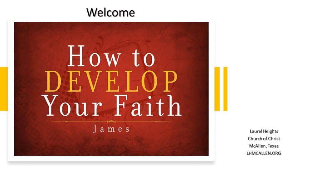 Development of our Faith Image