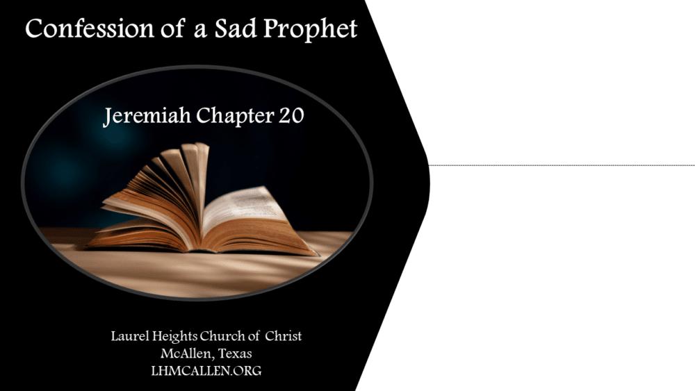 The Sad Prophet
