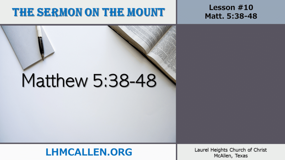 Sermon on the Mount June 9 Image