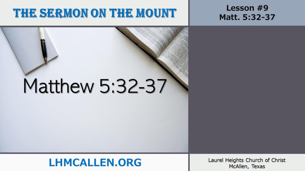 Sermon on the Mount June 6 Image