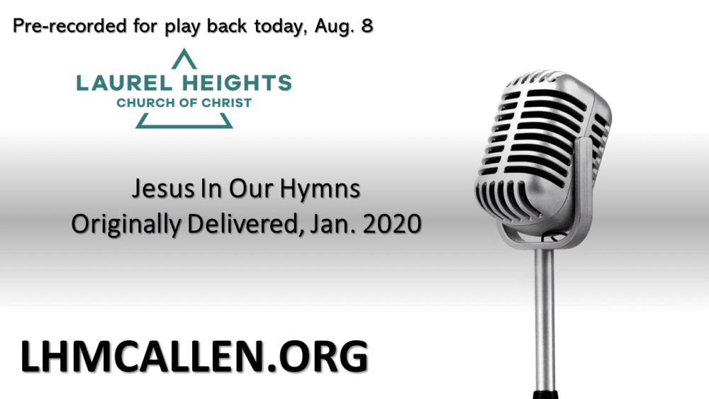 Jesus in our Hymns am