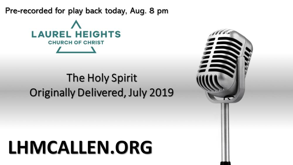 The Holy Spirit pm