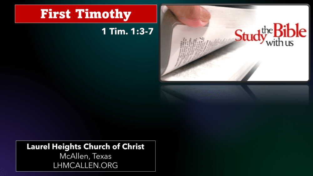 1 Timothy for July 28 Image
