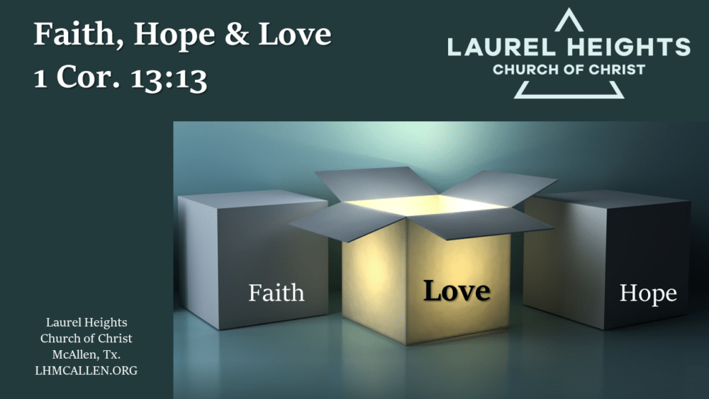 Faith Love and Hope Image
