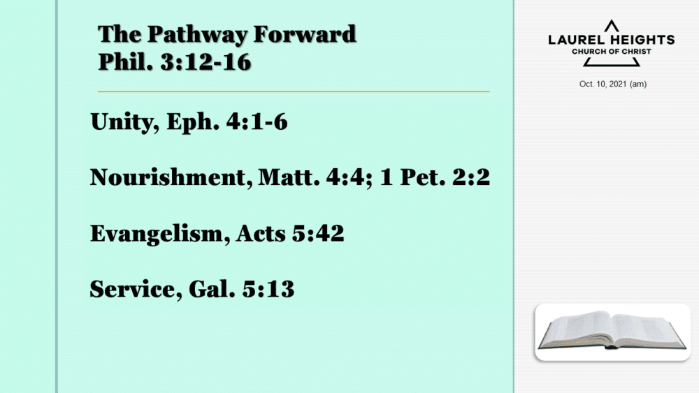 The Pathway Forward Oct 10 am Image