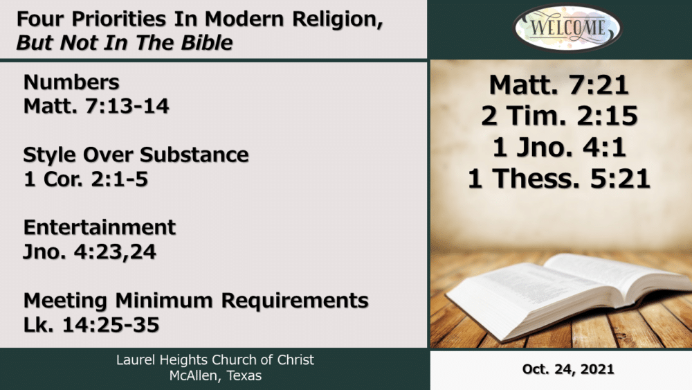 Modern Religion Oct 24 pm Image